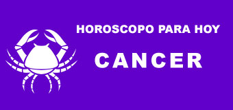 Cancer - Horoscopo de hoy