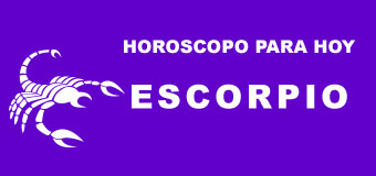 Escorpio - Horoscopo de hoy
