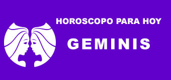 Geminis - Horoscopo para hoy