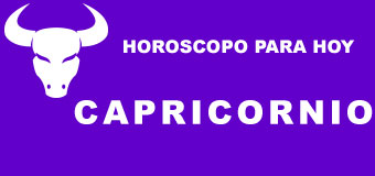 Capricornio - Horoscopo para hoy