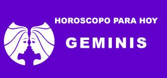 Geminis - Horoscopo de hoy